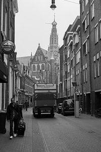 De stad Haarlem Noord-Holland