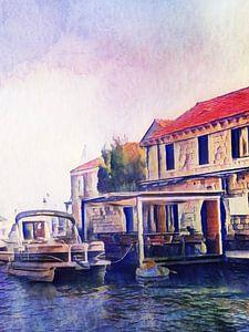 Kroatische Insel, #4 von zam art