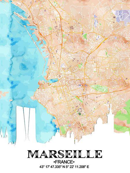 Marseille van Printed Artings