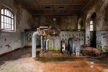 Verlassene Fabrik im Zerfall. von Roman Robroek