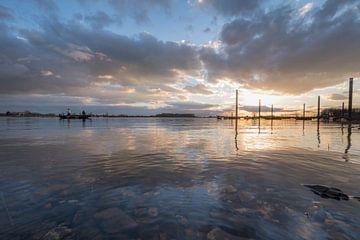 Vissersboot op meer von Moetwil en van Dijk - Fotografie