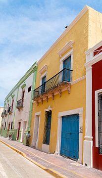 Campeche: Koloniaal gebouw van Maarten Verhees