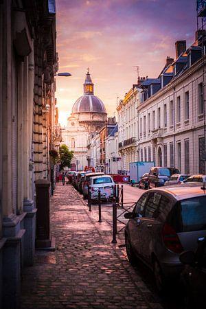 Die Straßen von Lille von Leon Weggelaar