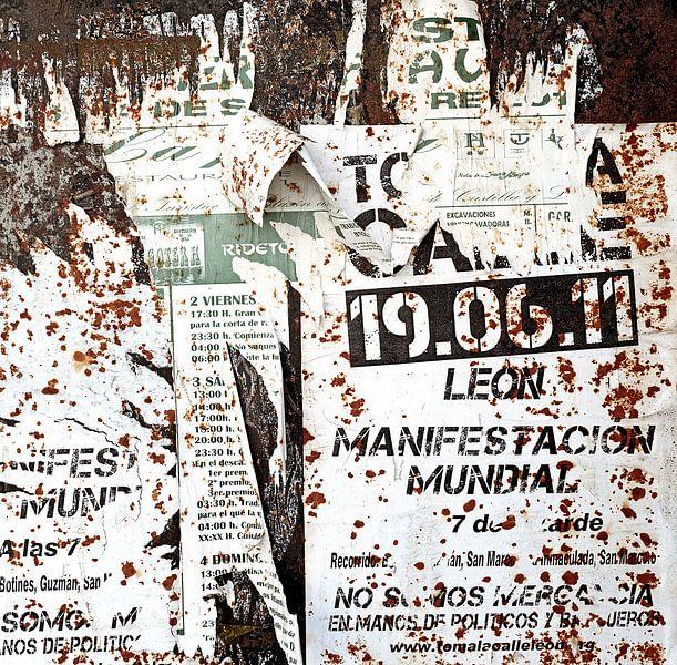 Affiche Manifestacion Mundial van Sigrid Klop