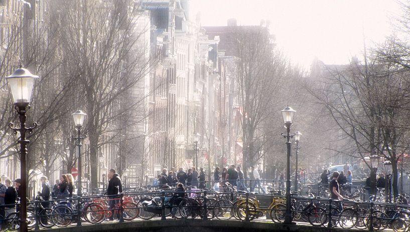 Prille Lentezon in Amsterdam van Jacq Christiaan