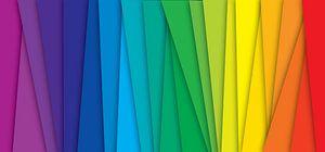 Regenboog  kleuren (spectrum) van Mark Rademaker