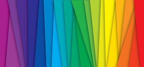 Regenboog  kleuren (spectrum)