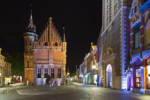 Het oude stadhuis van Kampen