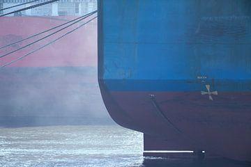 Scheepsrompen                    Waalhaven Rotterdam van Maarten Visser