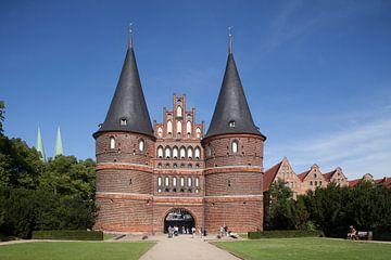 Holstentor, L�beck, Schleswig-Holstein, Deutschland, Europa