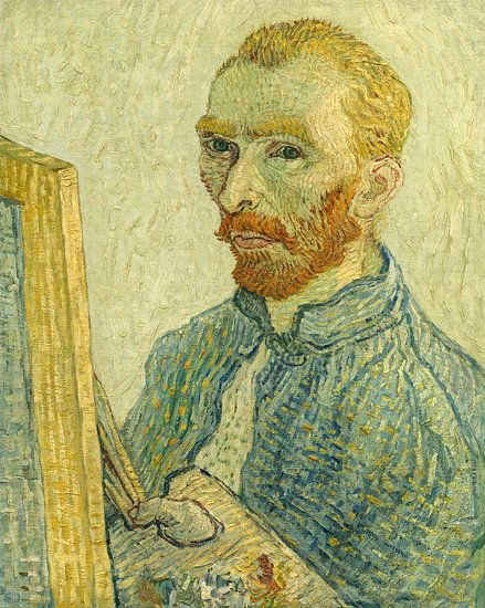 Portret van Vincent van Gogh, Imitator van Vincent van Gogh van Liszt Collection