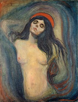 Madonna, Edvard Munch sur