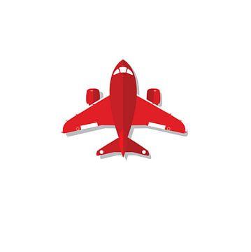 Flugzeug-Spielzeug-Illustration von sarp demirel