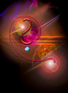 Licht und Energie ist Magie