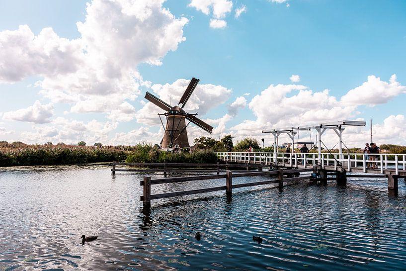 Windmühlen auf dem Kinderdijk. von Brian Morgan