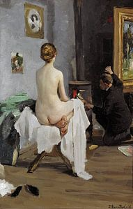 The Painter's Studio, Janis Rozentāls