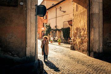 Morgensonne in Trastevere von Arnold Reyneveld