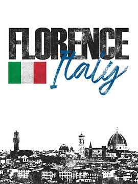 Florence Italië van Printed Artings