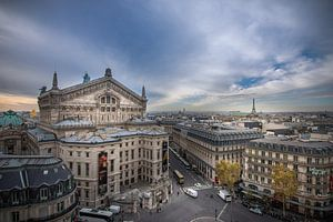Schitterend uitzicht over Parijs van