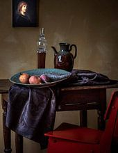 Kundenfoto: Rembrandt van Rijn, Saskia van Uylenburgh, die Frau des Künstlers von Rembrandt van Rijn, auf leinwand