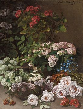 Frühlingsblumen, Claude Monet