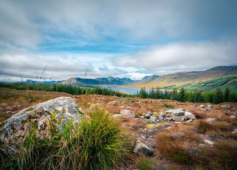 Landschap in Schotland van Thijs van Beusekom