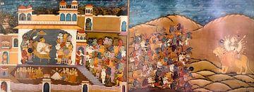 Jodhpur: Fort Mehrangarh van Maarten Verhees