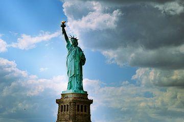 New York Vrijheidsbeeld van Madeleine Michel