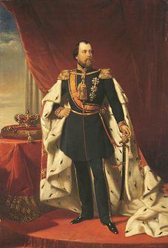Koning Willem III (1817-90), koning der Nederlanden, Nicolaas Pieneman van