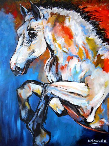 Edles Pferd von