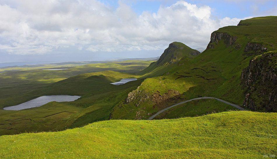 impressions of scotland - quiraing III van Meleah Fotografie