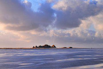Les dunes du château sur le Noordsvaarder.
