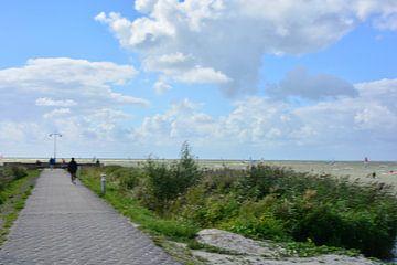Wolken boven IJsselmeer  von Nico Feenstra
