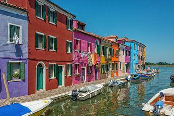 Burano, Italien von Richard van der Woude