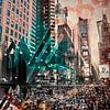 New York City | Geometric Mix No. 4 von Melanie Viola Miniaturansicht