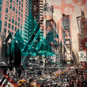 New York City   Geometric Mix No. 4
