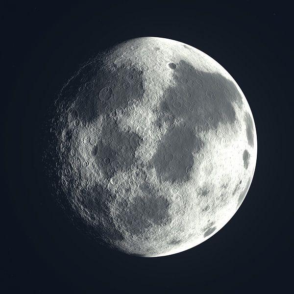 Moon Phase 1 N.1 von Olis-Art