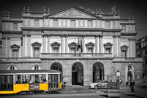 MAILAND Teatro alla Scala & Straßenbahn