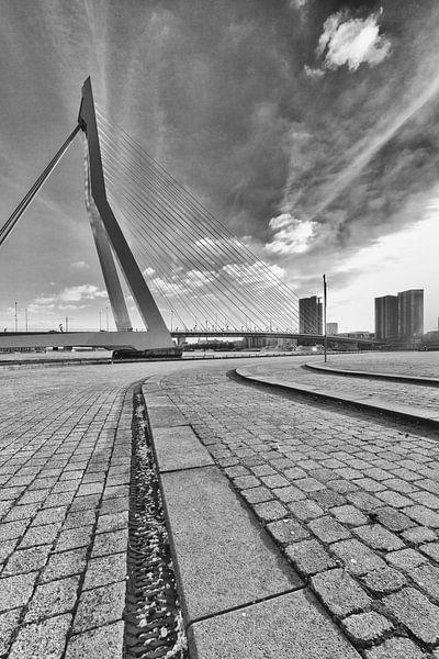 Noordereiland Rotterdam Brugzijde van Rob van der Teen