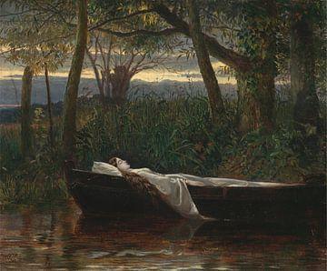 The Lady of Shalott, Walter Crane sur