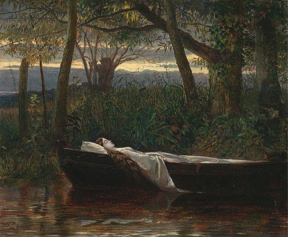 De Vrouwe van Shalott, Walter Crane