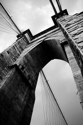 Brooklyn Bridge In Detail von Sonny de Jong