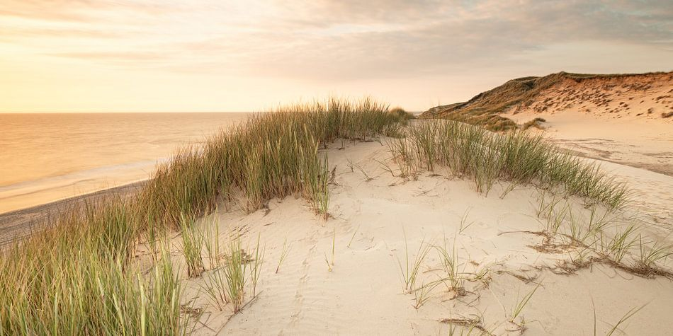Sylt dunes panoramic van Dirk Thoms