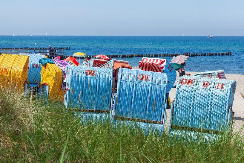 Strandkörbe,  Kühlungsborn, Mecklenburg-Vorpommern, Deutschland, Europa von Torsten Krüger
