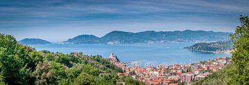 Panorama landschap Italie von