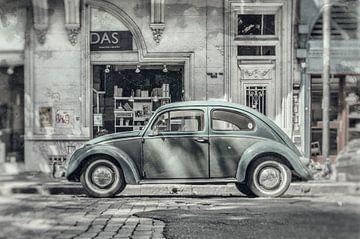 Alter VW-Käfer in Buenos Aires Argentinien von Ron van der Stappen