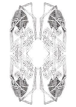 Labyrinth in den Windungen und Wendungen von Wouter Springer