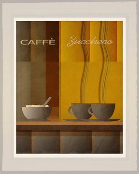 Caffe Zucchero  - Art Deco van Joost Hogervorst