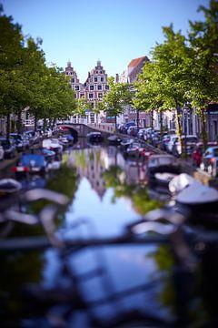 Canal de conte de fées Haarlem sur Karel Ham