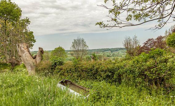 Doorkijkje omgeving Camerig in Zuid-Limburg van John Kreukniet